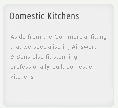Ainsworth & Sons - Domestic Kitchens