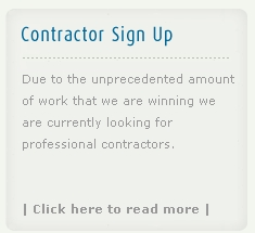 Ainsworth & Sons - Contractor Sign Up